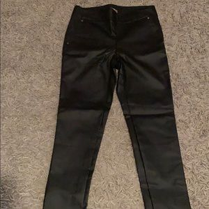 NWOT Maurices XS Faux Leather pants